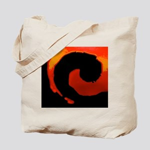 Spiral Of Flame Tote Bag