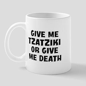 Give me Tzatziki Mug
