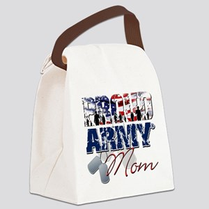 ProudArmyMom Canvas Lunch Bag