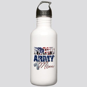 ProudArmyMom Water Bottle