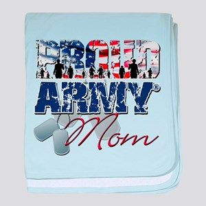 ProudArmyMom baby blanket