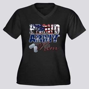 ProudArmyMom Plus Size T-Shirt
