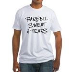 Barbell Sweat & Tears Fitted T-Shirt