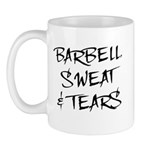 Barbell Sweat & Tears Mug