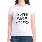 Barbell Sweat & Tears Jr. Ringer T-Shirt