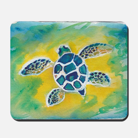 Baby Sea Turtle Hi Mousepad