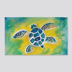 Baby Sea Turtle Hi 3'x5' Area Rug
