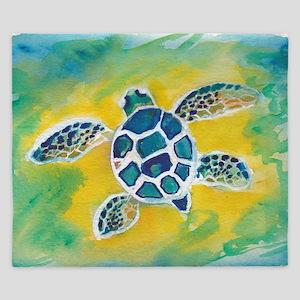 Baby Sea Turtle Hi King Duvet