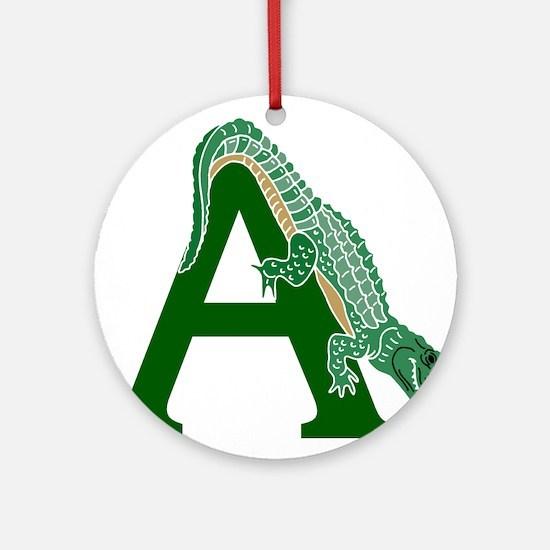 A......alligator Ornament (Round)
