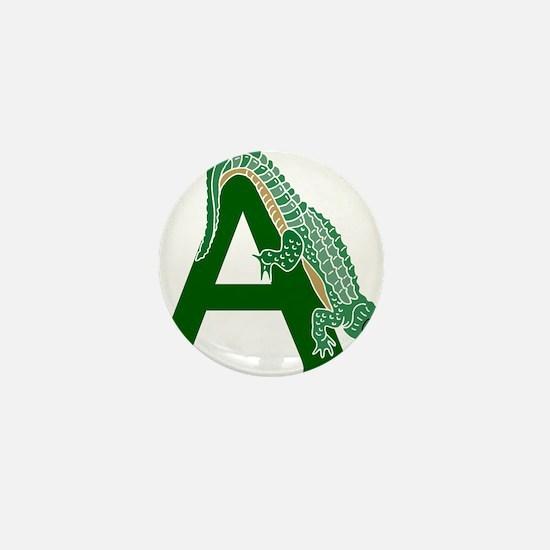 A......alligator Mini Button