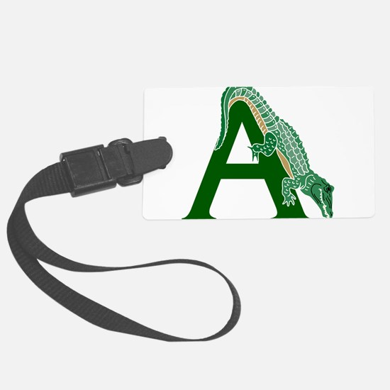 A......alligator Luggage Tag