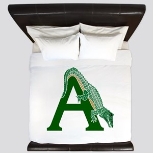 A......alligator King Duvet