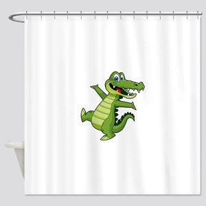 ALLIGATOR147 Shower Curtain