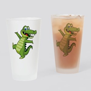 ALLIGATOR147 Drinking Glass