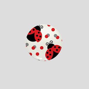 LADYBUG DUO Mini Button