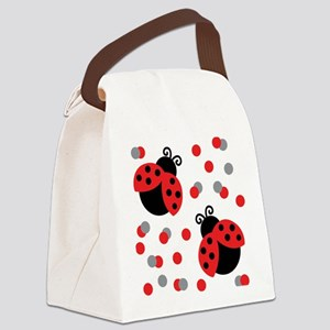 LADYBUG DUO Canvas Lunch Bag
