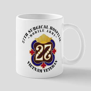 Army - 27th Surgical Hospital NO SVC Ri Mug