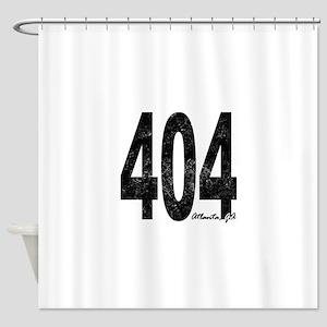 Distressed Atlanta 404 Shower Curtain