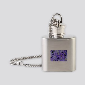 Purple Wildflowers for FMS Flask Necklace