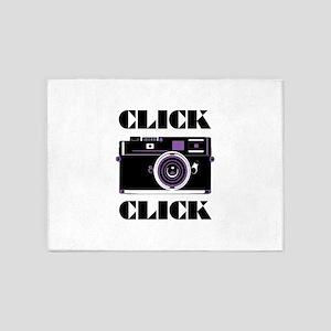 Click Click 5'x7'Area Rug