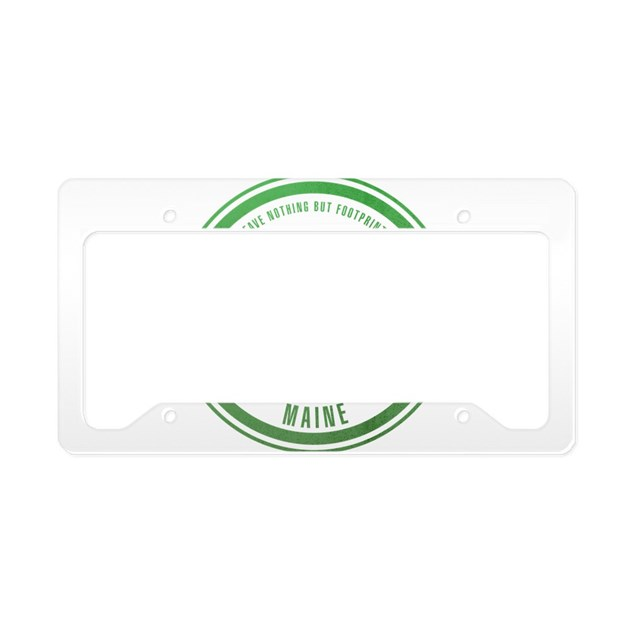 Acadia National Park, Maine License Plate Holder by