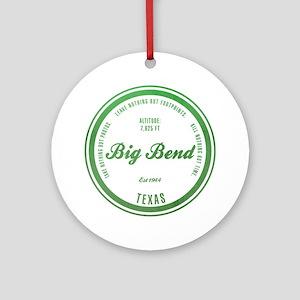 Big Bend National Park, Texas Ornament (Round)