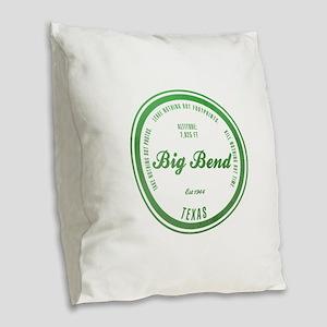 Big Bend National Park, Texas Burlap Throw Pillow