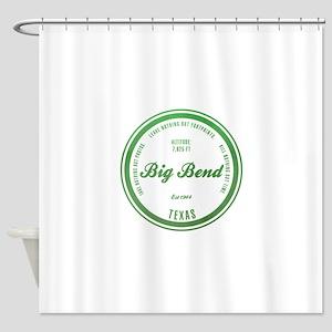 Big Bend National Park, Texas Shower Curtain