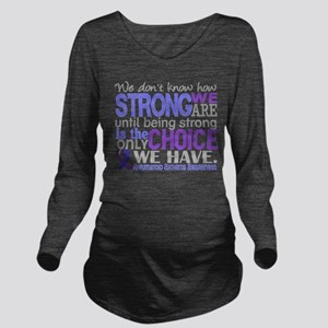 RA How Strong We Are Long Sleeve Maternity T-Shirt