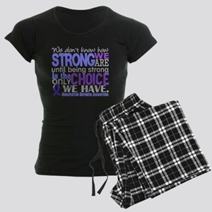 RA How Strong We Are Women's Dark Pajamas