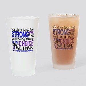 RA How Strong We Are Drinking Glass