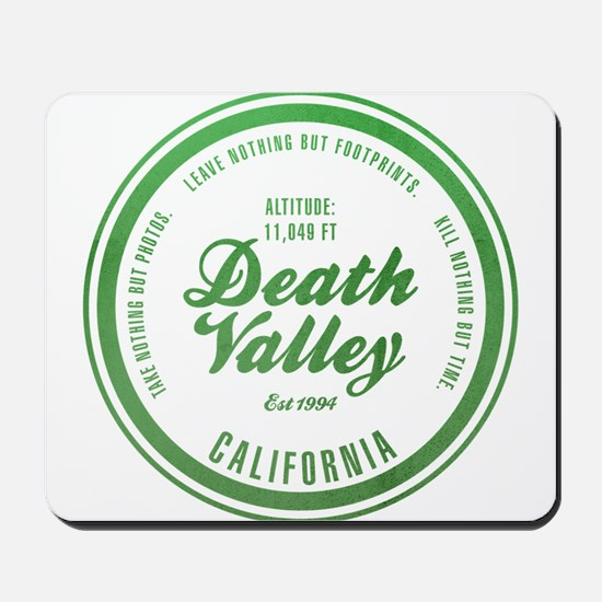 Death Valley National Park, California Mousepad