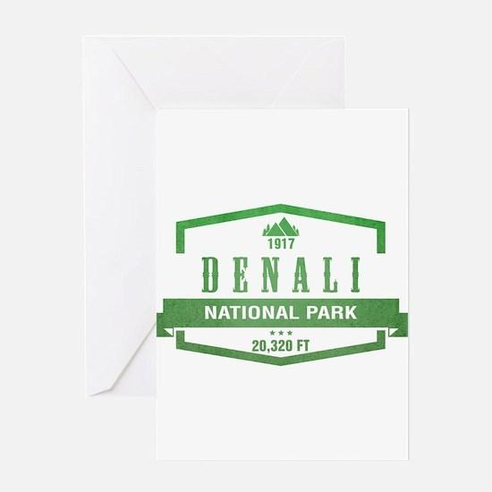 Denali National Park, Alaska Greeting Cards
