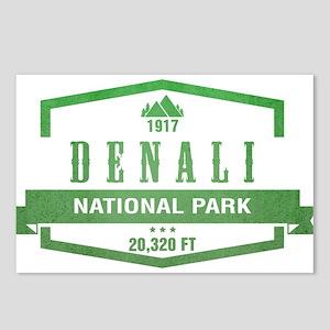 Denali National Park, Alaska Postcards (Package of
