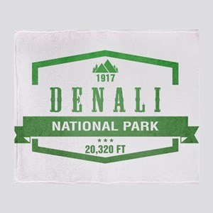 Denali National Park, Alaska Throw Blanket