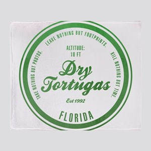 Dry Tortugas National Park, Florida Throw Blanket