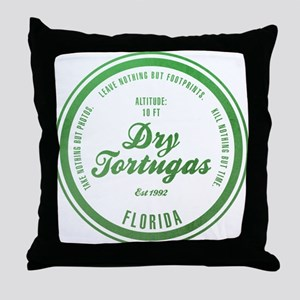 Dry Tortugas National Park, Florida Throw Pillow