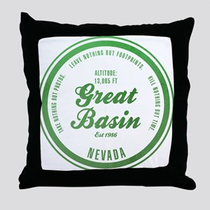 Great Basin National Park, Nevada Throw Pillow