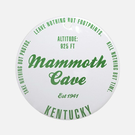 Mammoth Cave National Park, Kentucky Ornament (Rou