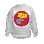 NO NUTS for me Kids Sweatshirt