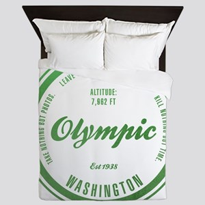 Olympic National Park, Washington Queen Duvet