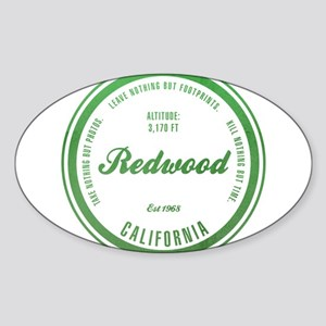 RedWood National Park, California Sticker