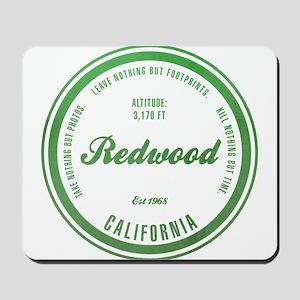 RedWood National Park, California Mousepad
