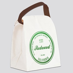 RedWood National Park, California Canvas Lunch Bag