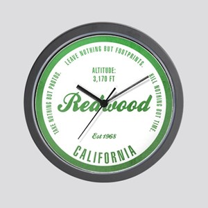 RedWood National Park, California Wall Clock