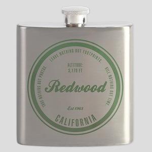RedWood National Park, California Flask