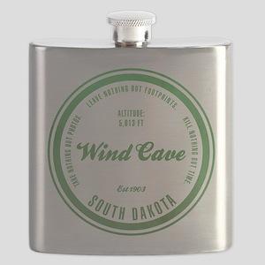 Wind Cave National Park, South Dakota Flask