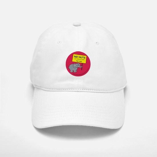 NO NUTS (or traces) Baseball Baseball Cap