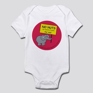 NO NUTS (or traces) Infant Bodysuit