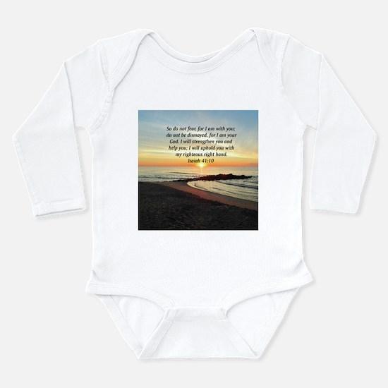 ISAIAH 41:10 Baby Suit